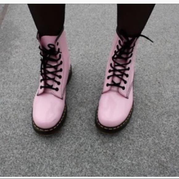 Light Pink Doc Martens Size 5m 665 New